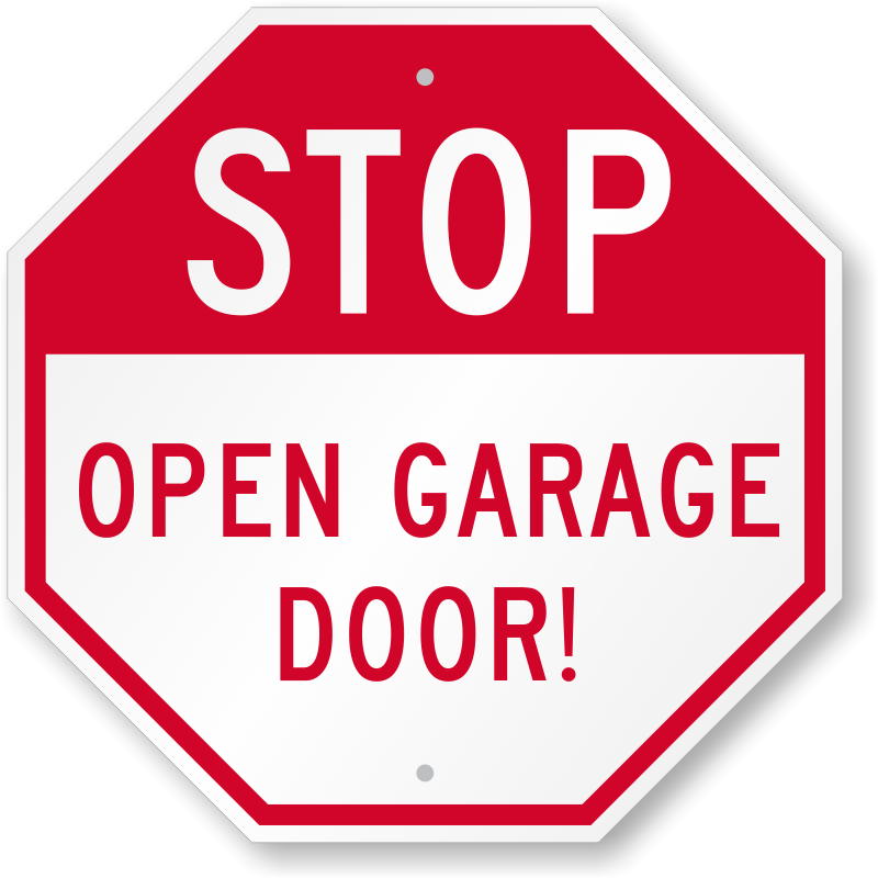 Clipart road driveway. Garage parking signs zoom