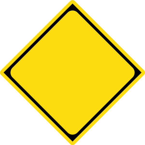 Clipart road file. Caution sign template filejapanese