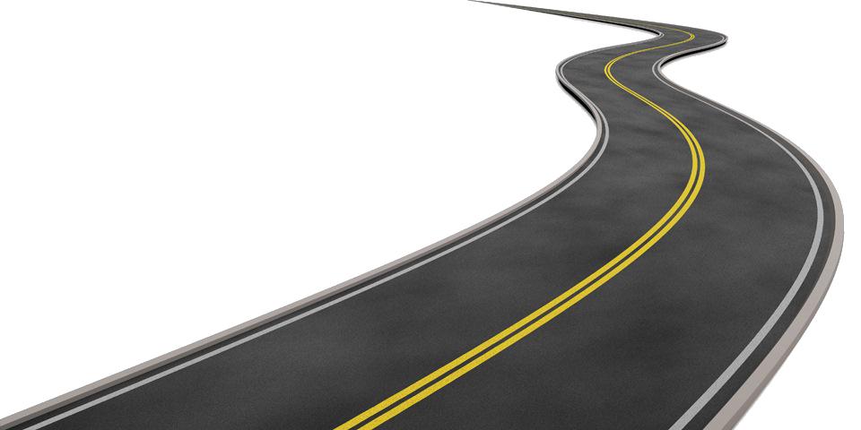 Technology roadmap map plan. Clipart road file
