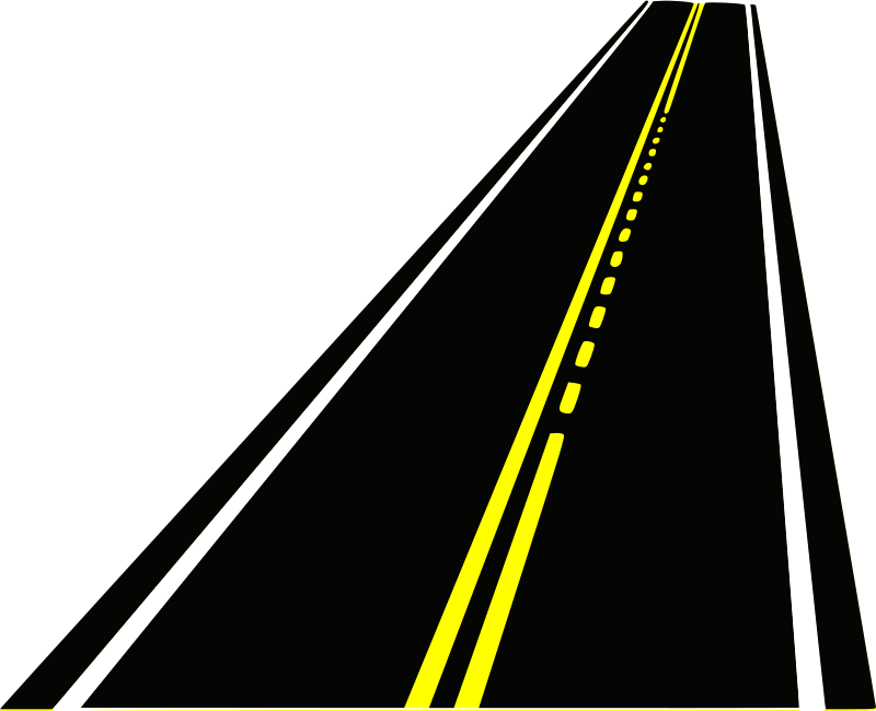 Clipart road horizontal.  collection of lane