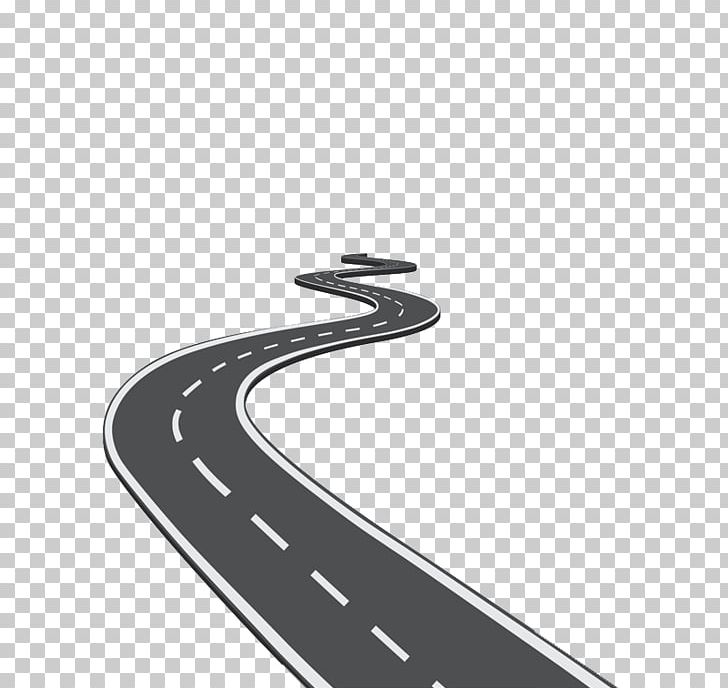 Png angle black and. Clipart road icon