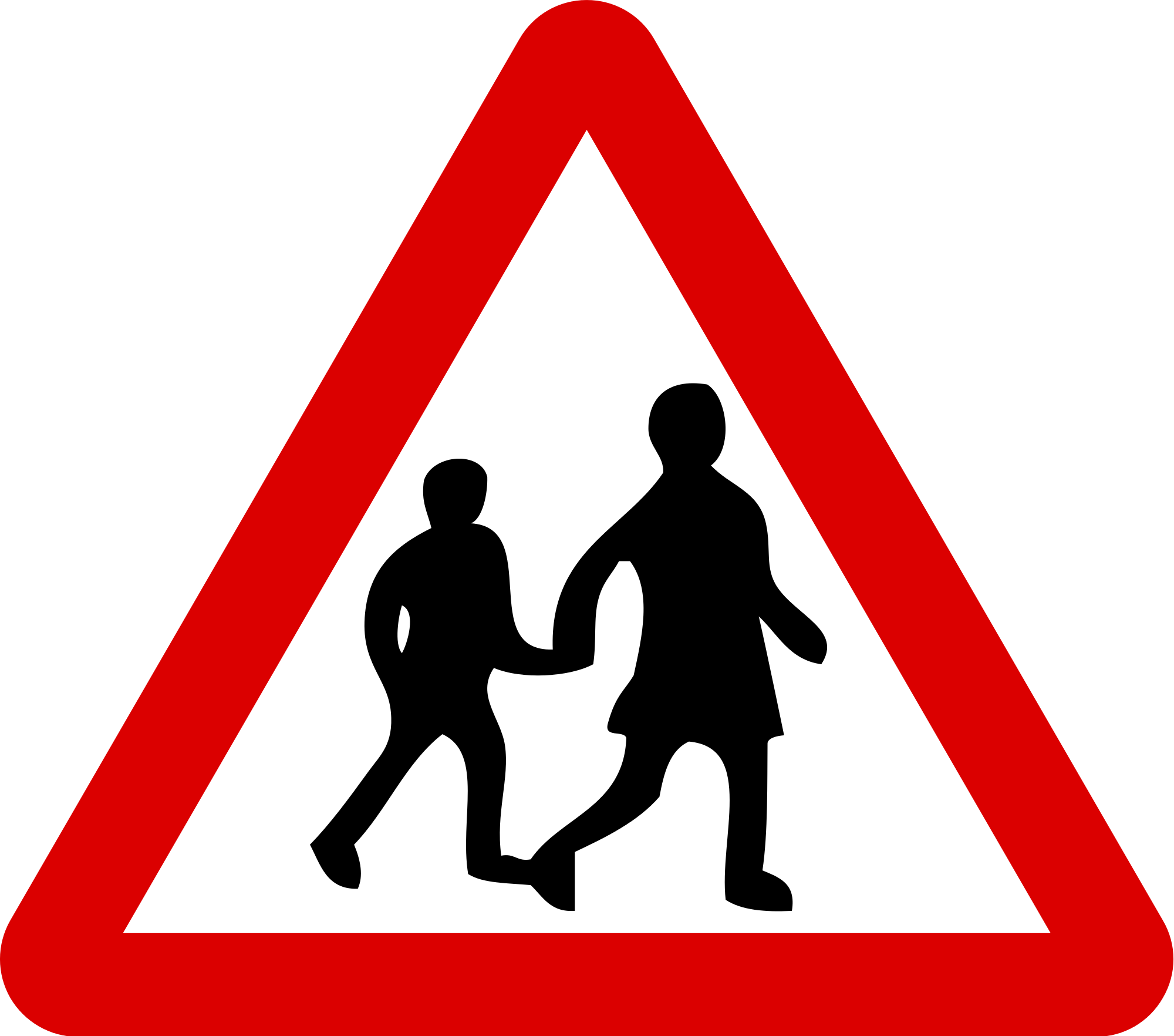 Clipart road illustration. Sign silhouette at getdrawings