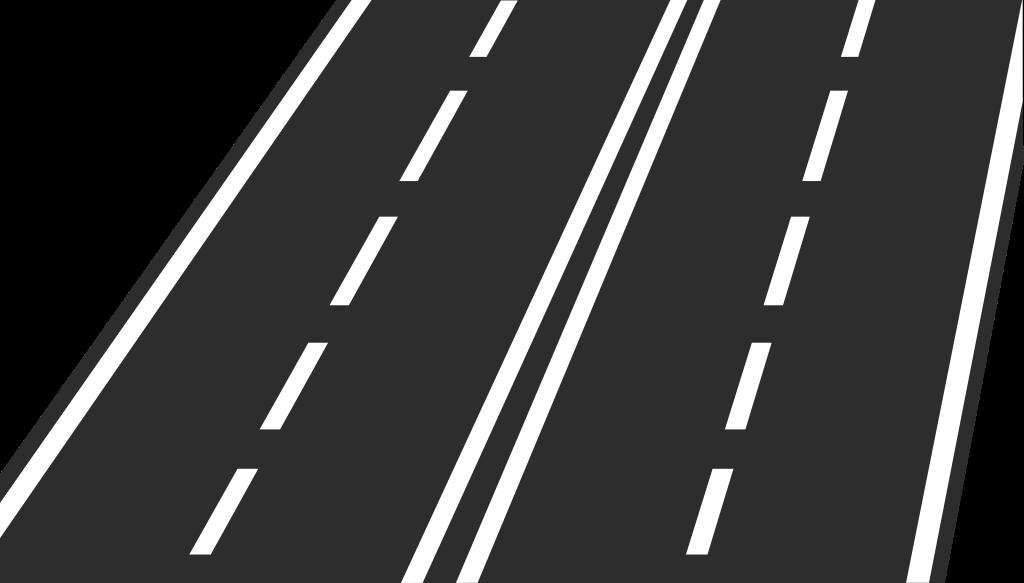 Trail clipart lane. File road icon svg