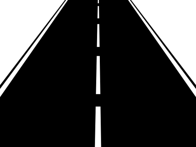 clipart road infrastructure