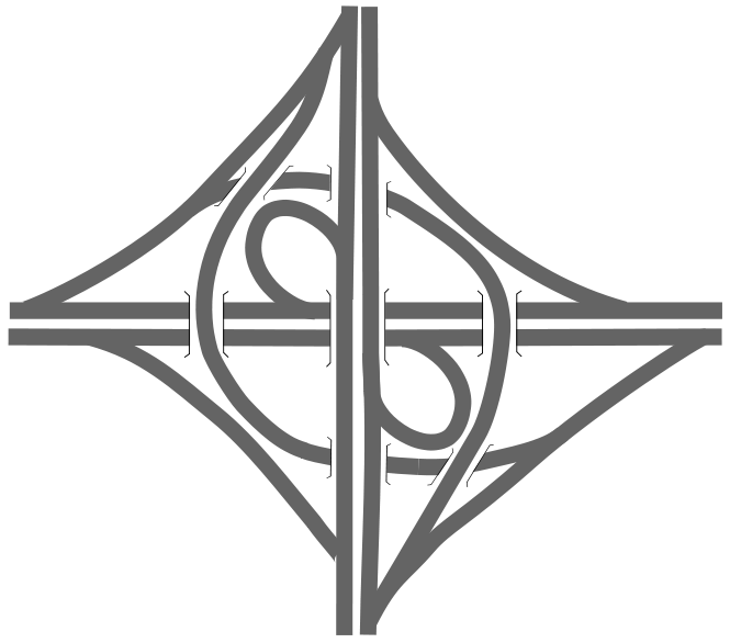 Clipart road intersection. Prins clausplein how the
