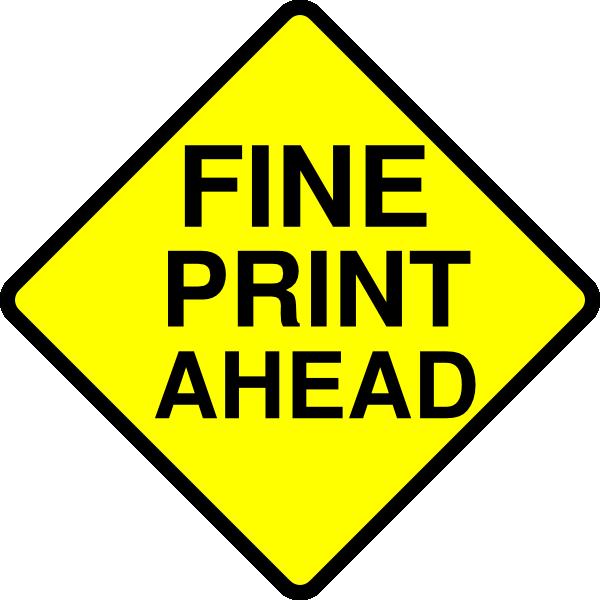 Clipart road junction. Fine print caution clip