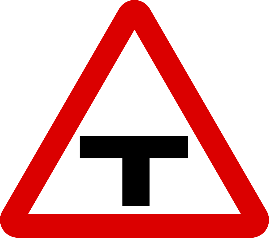 T sign filesingapore signs. Clipart road junction