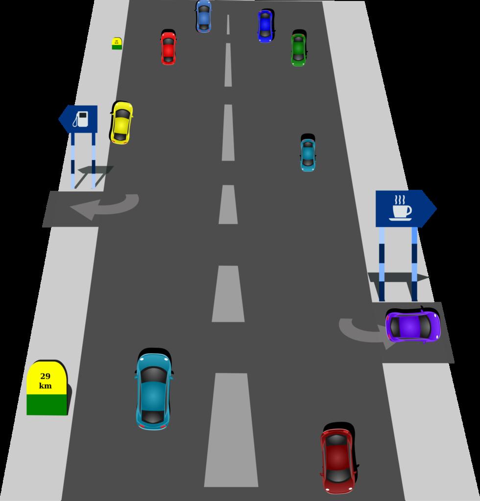 Clipart road long road. Street clip art transprent