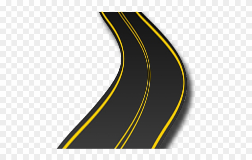 Curved png download pinclipart. Clipart road long road