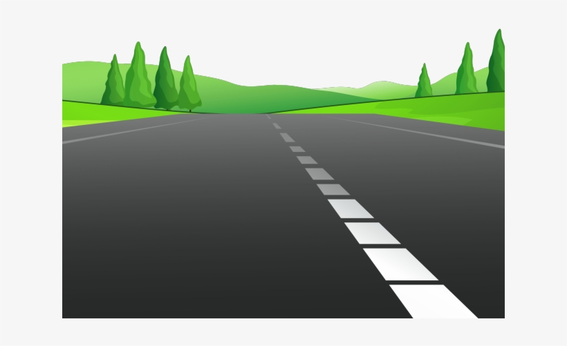 Svg library free on. Clipart road open road