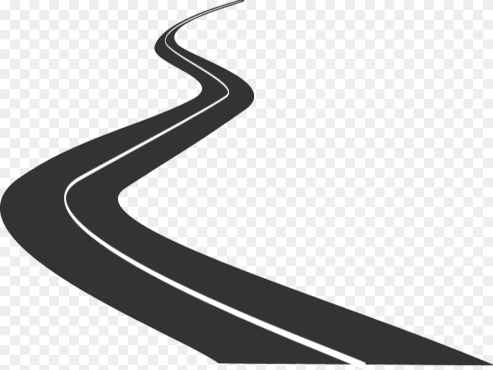 Pathway clipart rough road. Free curve download clip