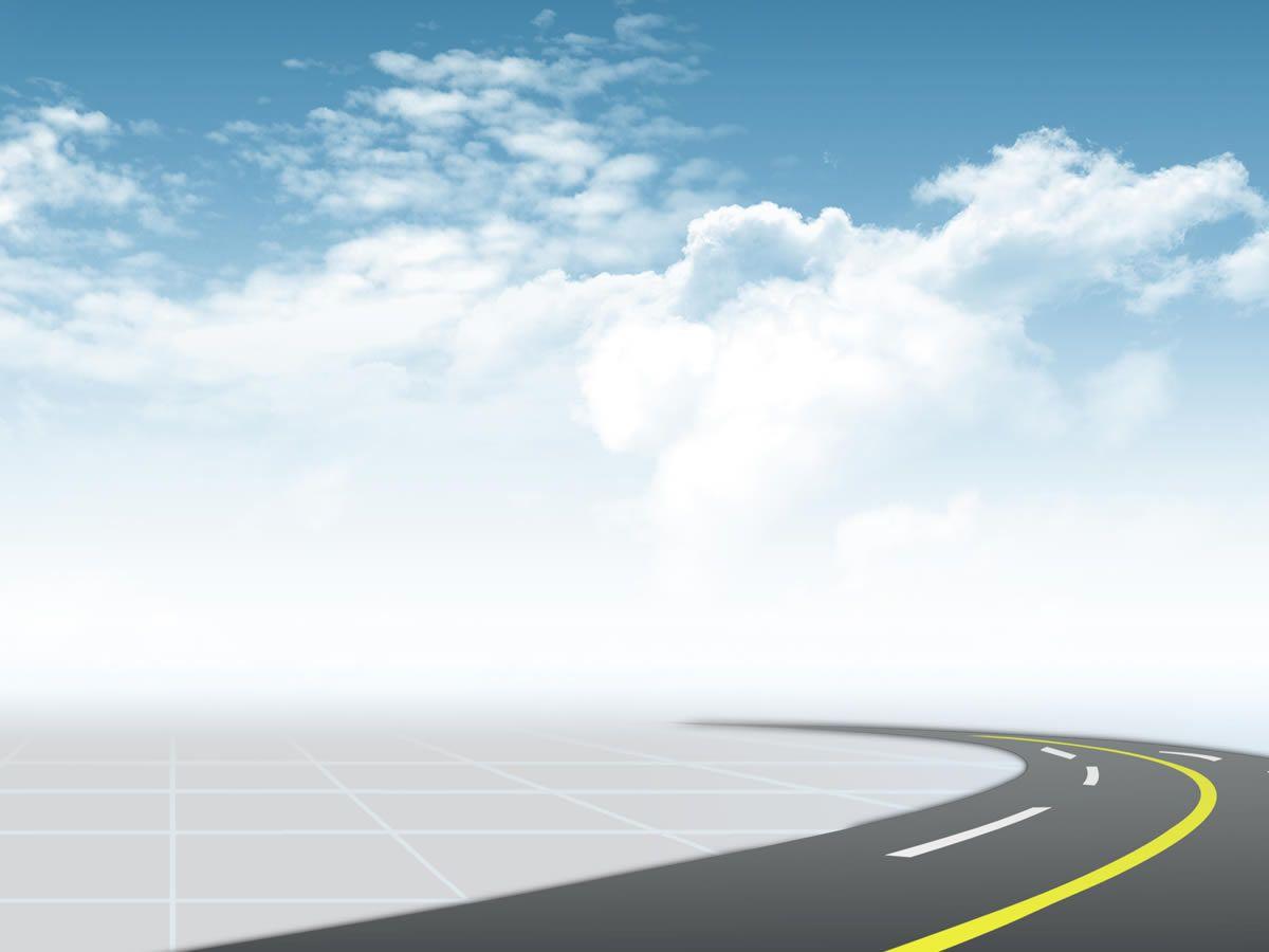 Transportation background powerpoint . Clipart road presentation