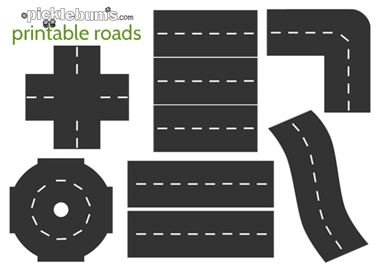 Roads for awesome imaginative. Clipart road printable