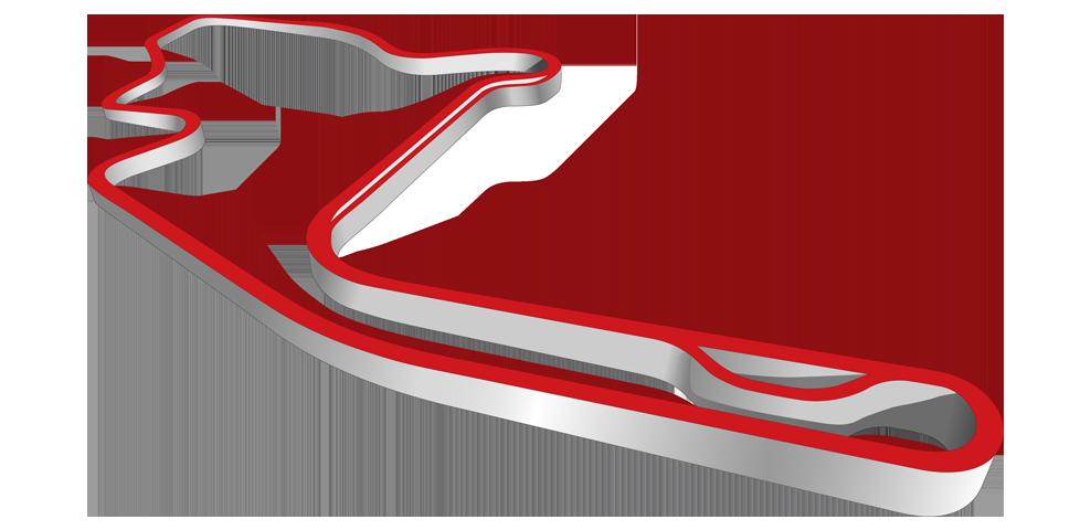Mid ohio sports course. Clipart road race car