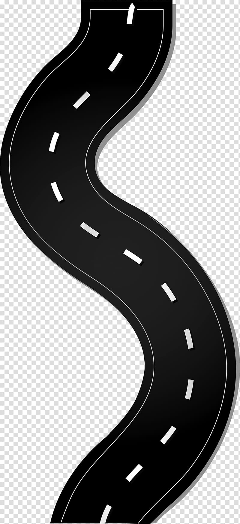 Clipart road raod. Highway winding transparent background