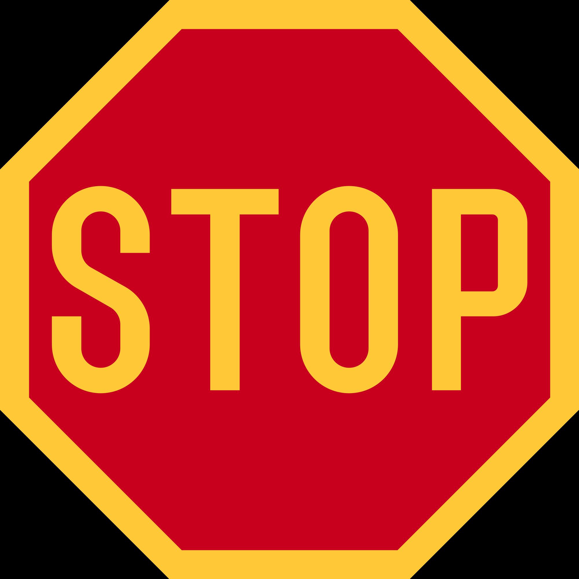 Highway road marking