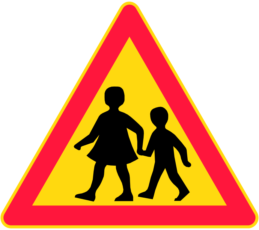 Clipart road road marking. Safety around binfield primary
