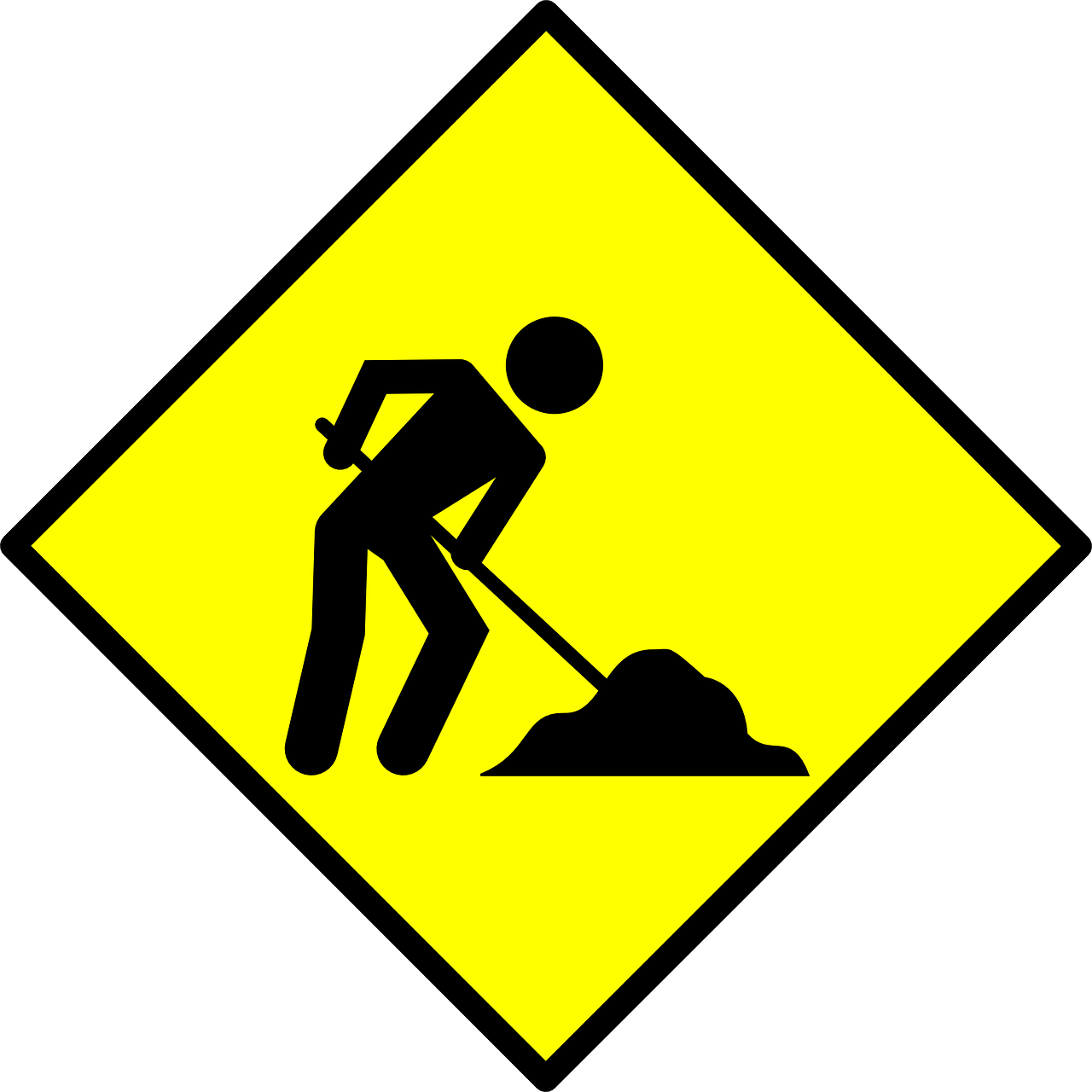 Buckrail . Clipart road road repair