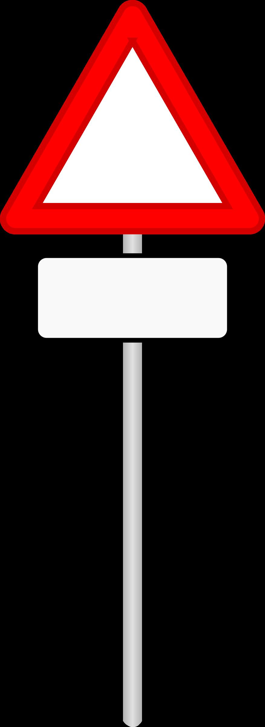 Big image png. Clipart road road sign