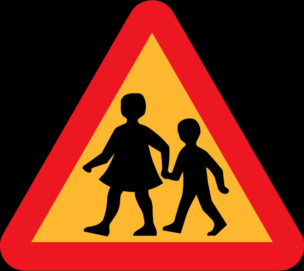 Onlinelabels clip art children. Clipart road road sign