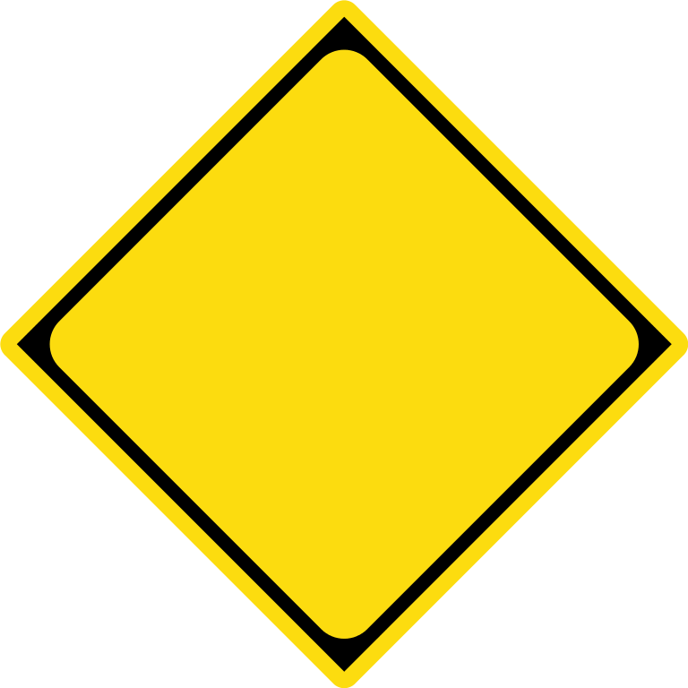 Clipart road roadway. Caution sign template filejapanese