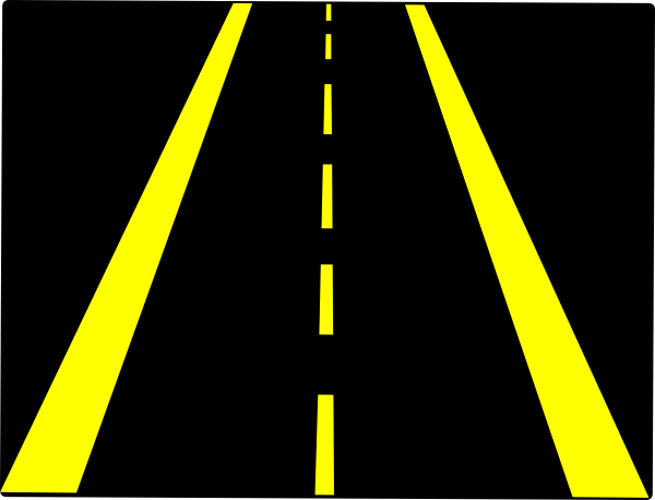 Clipart road roadway. Free cliparts download clip