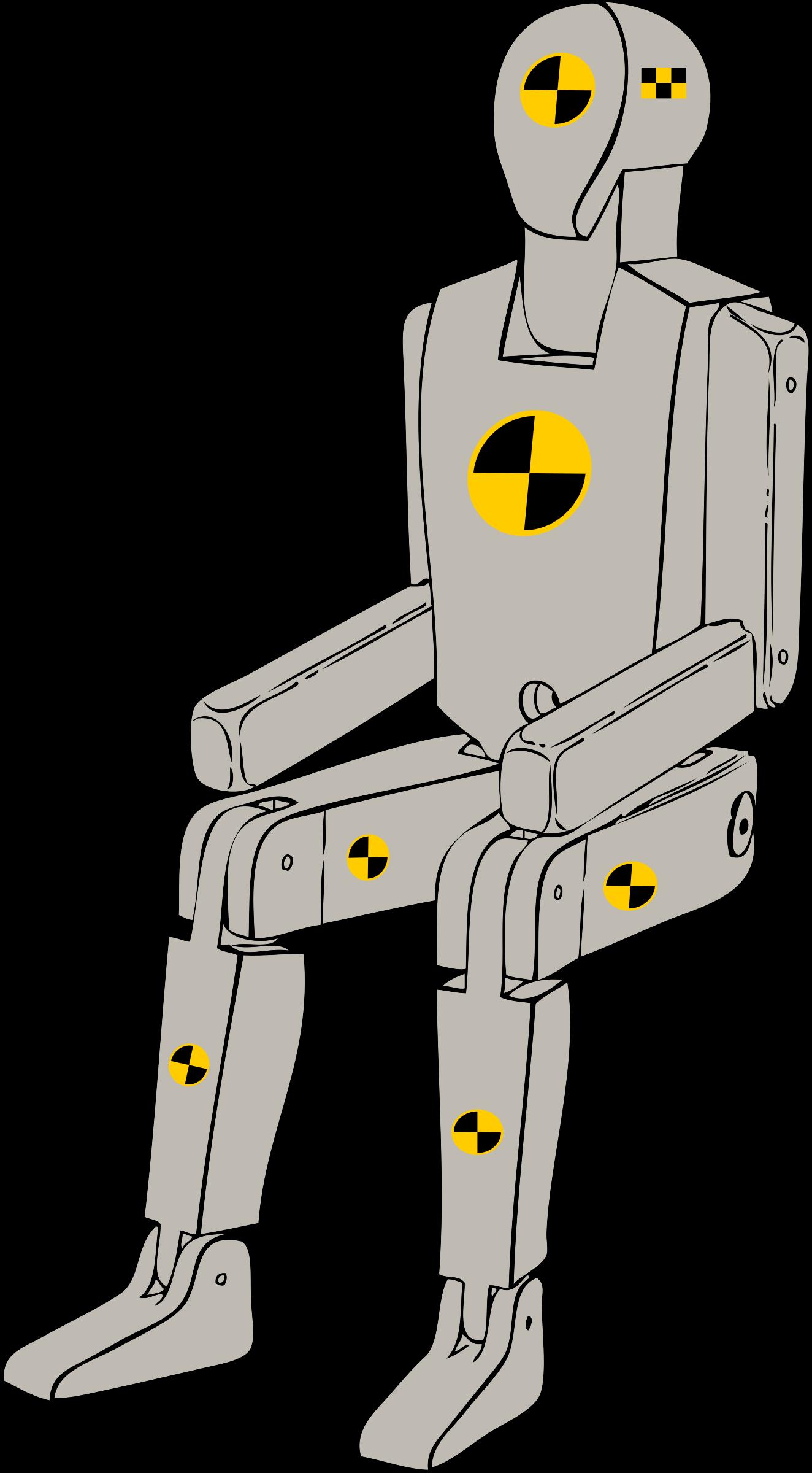 Test clipart svg. Crash dummy big image