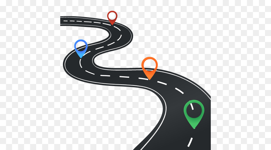 Map cartoon technology transparent. Maps clipart road