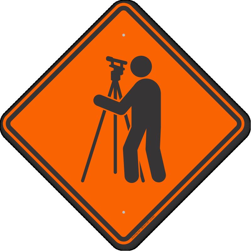 Clipart road rural road. Surveyor symbol sign sku