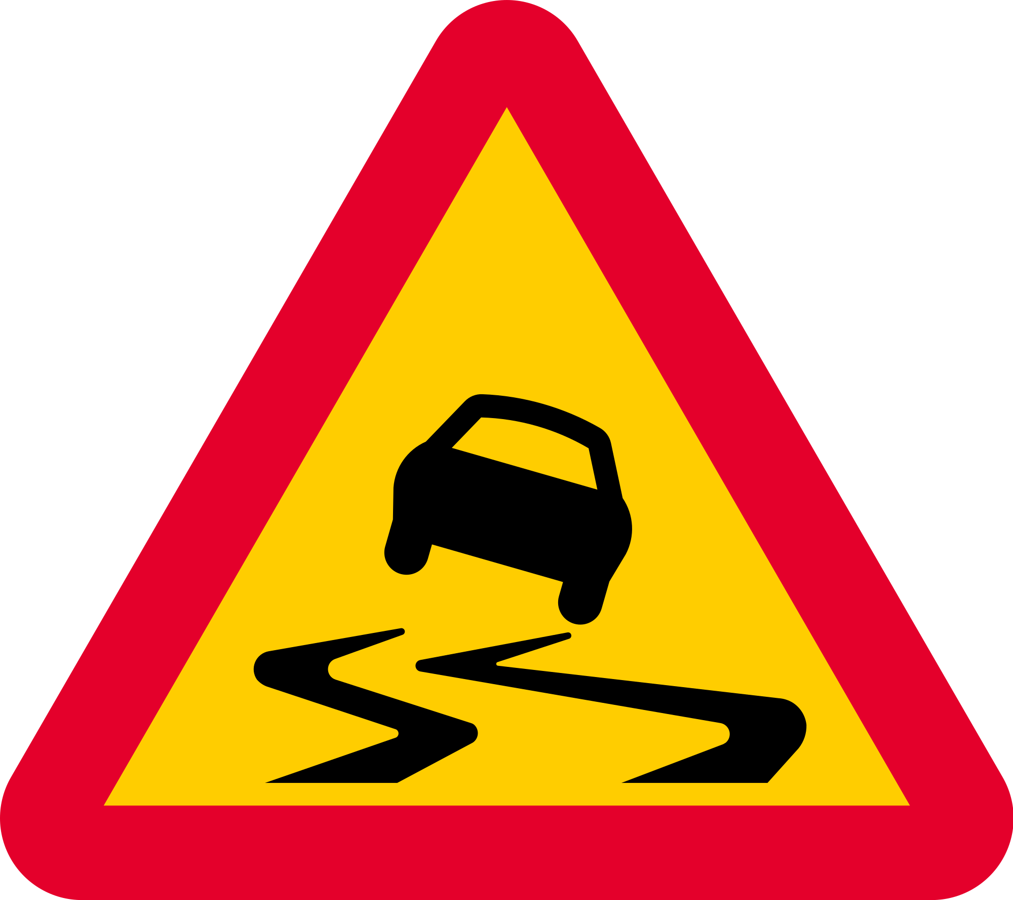File sweden sign a. Clipart road scenic drive