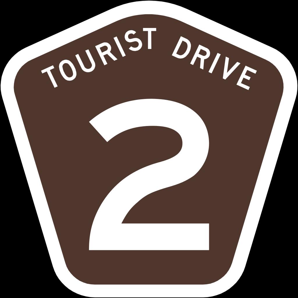 Clipart road scenic drive. File australian tourist svg