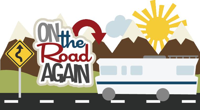 Trip free download best. Clipart road scrapbook