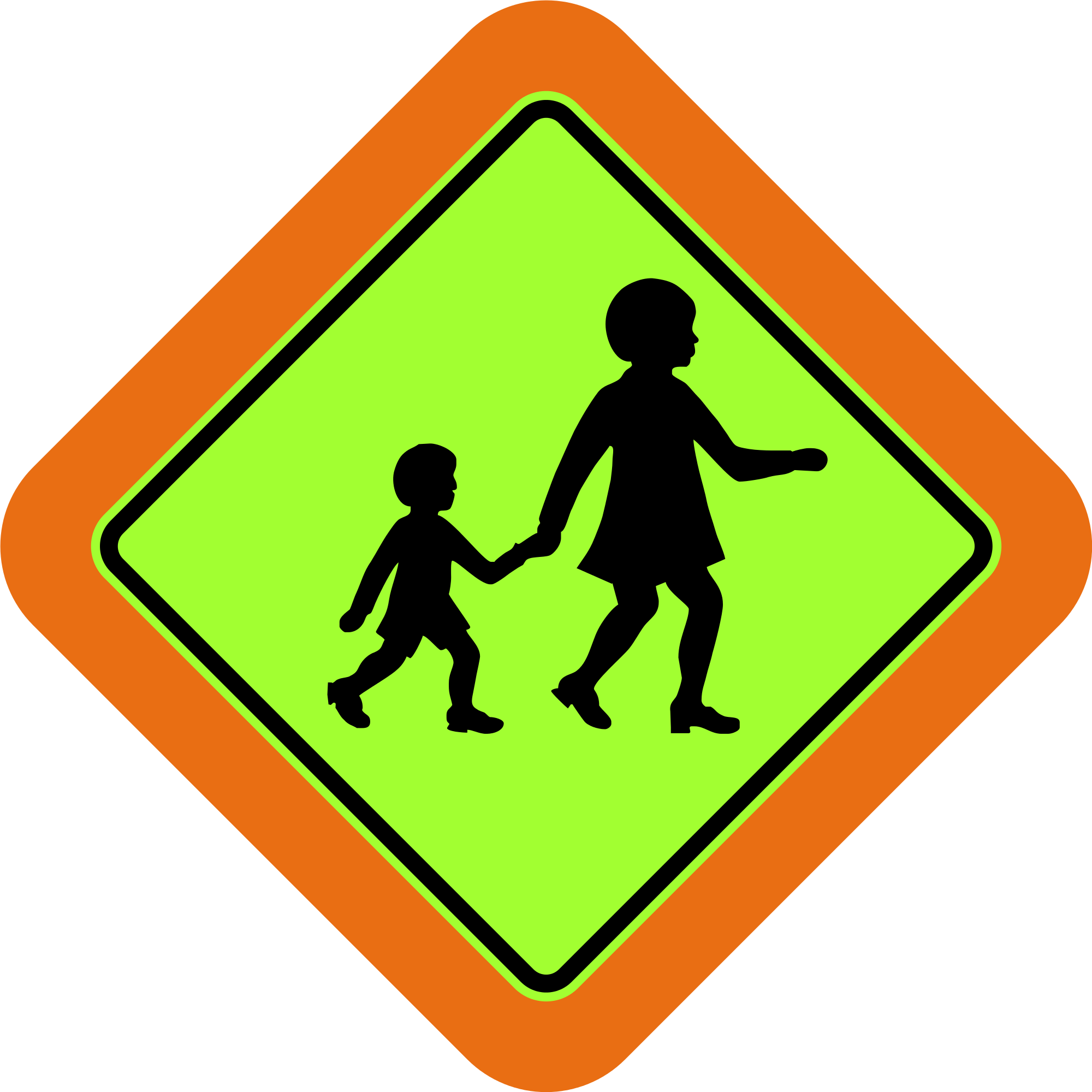 Clipart road signboard.  best sign board