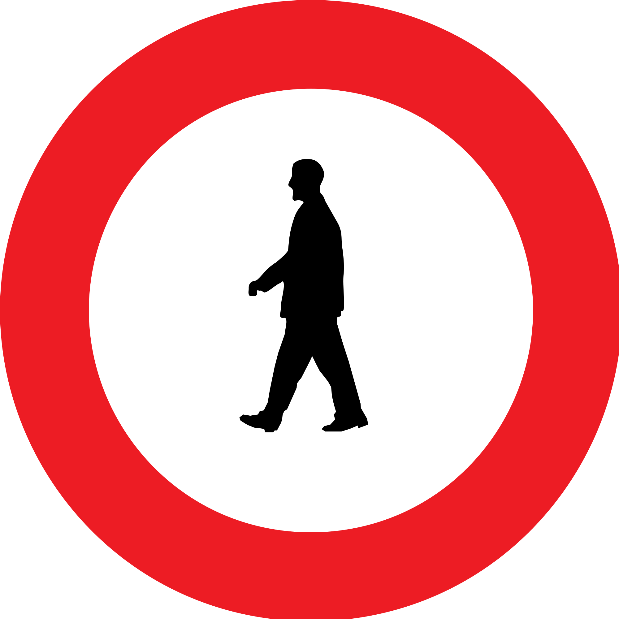 Clipart road silhouette. Sign at getdrawings com