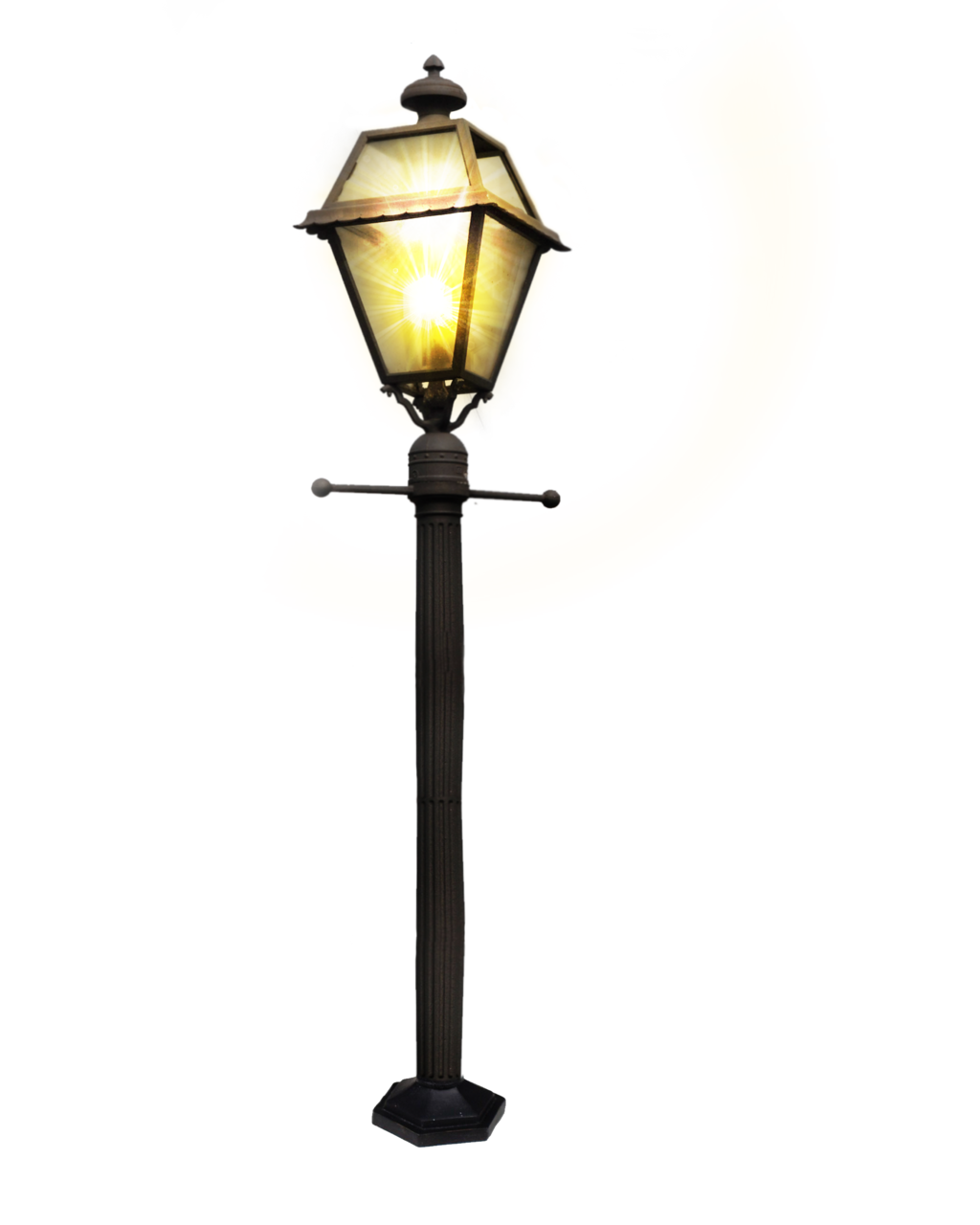 Clipart road street. Lamp post light pencil