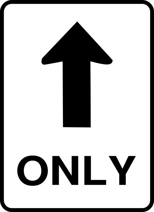 One way sign transparent. Clipart road street