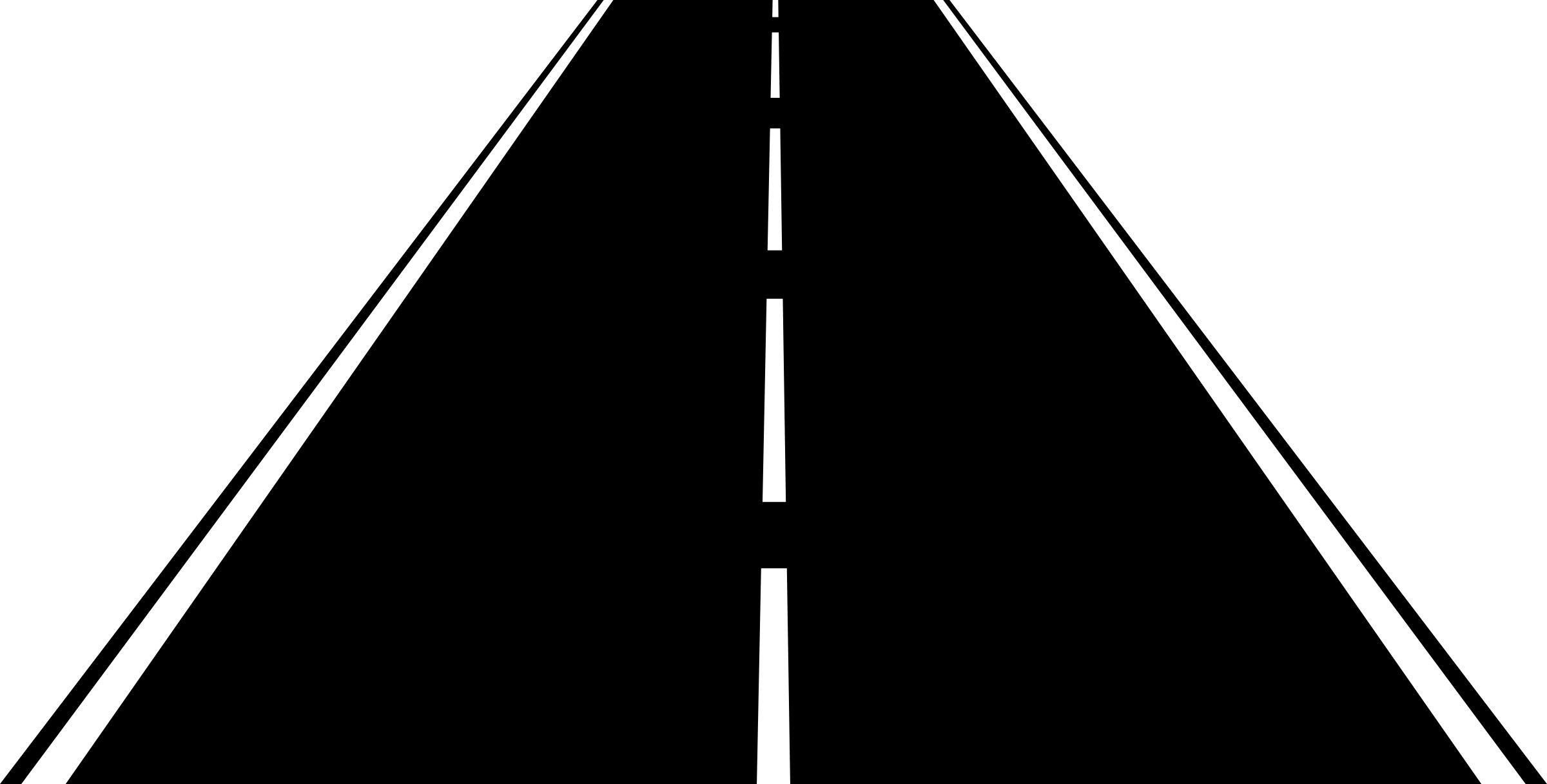 collection of straight. Clipart road street