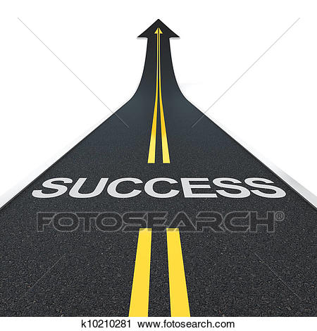 Of search clip art. Clipart road success