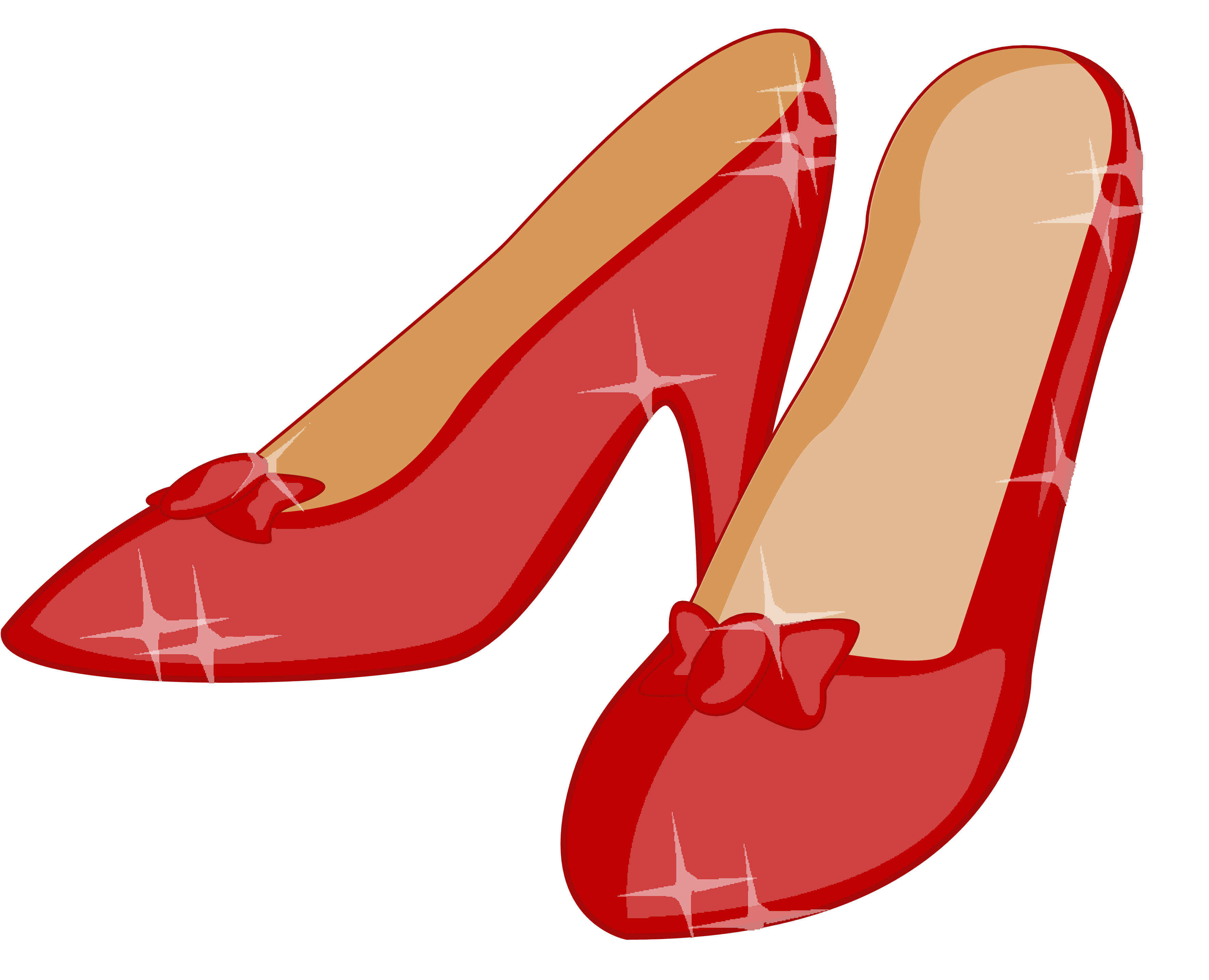 Yellow brick road at. Heels clipart doll shoe