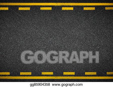 Clip art asphalt highway. Clipart road top view