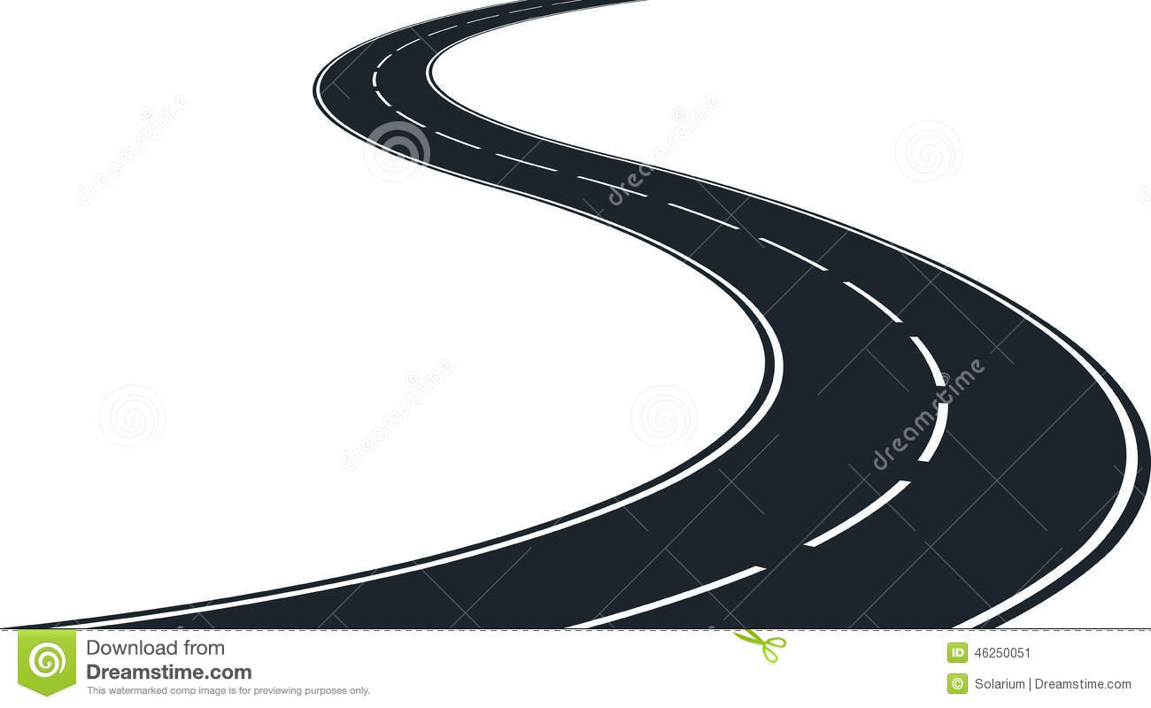 Winding free download best. Clipart road vector
