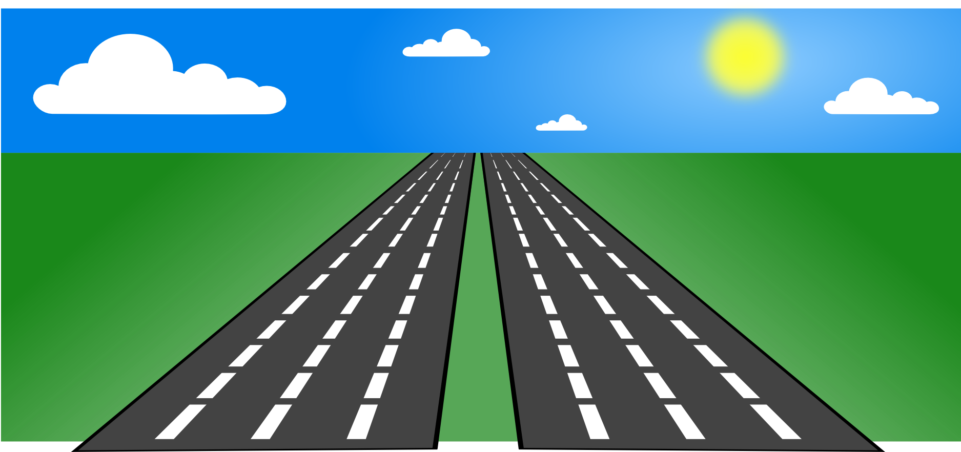 Clip art transparent cartoon. Clipart road wide road