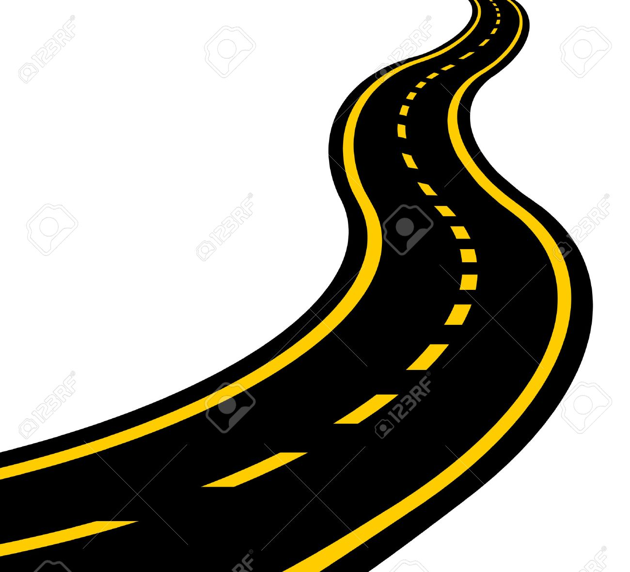 Clipart road winding road. Free download best