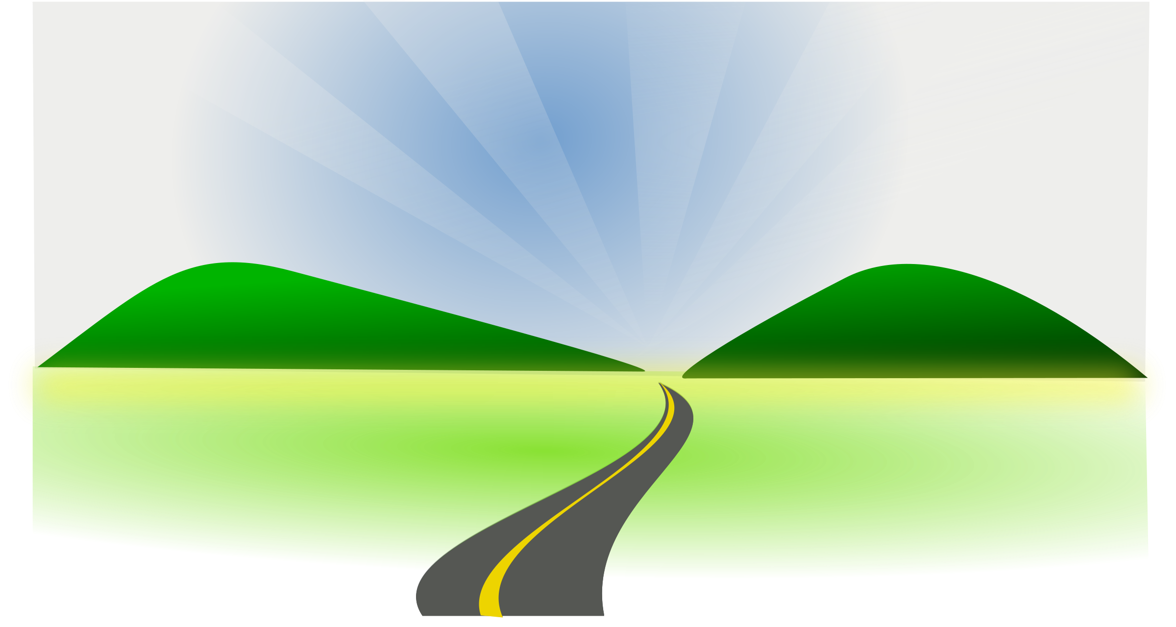 collection of mountain. Pathway clipart hilly road
