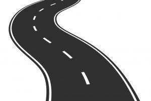 Clipart road zigzag road.  clipartlook
