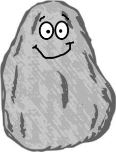 Clipart rock. Mr clip art at