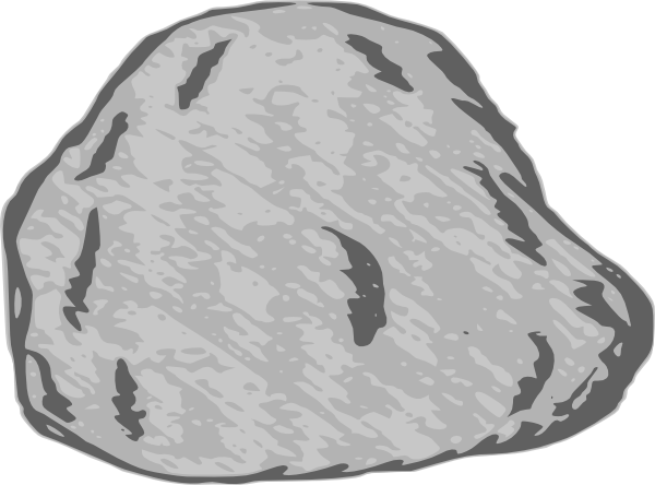 Large . Clipart rock