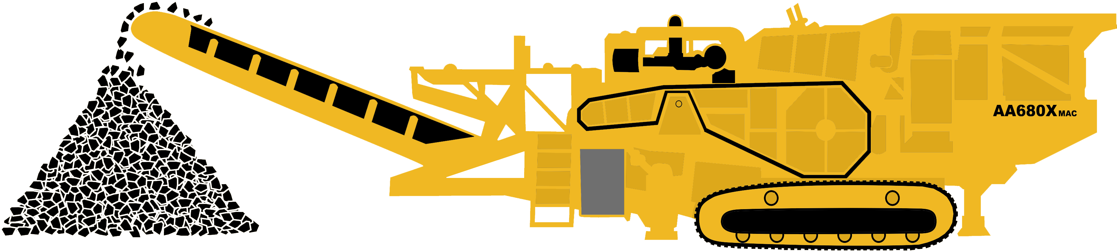 A custom crushing we. Clipart rock aggregate