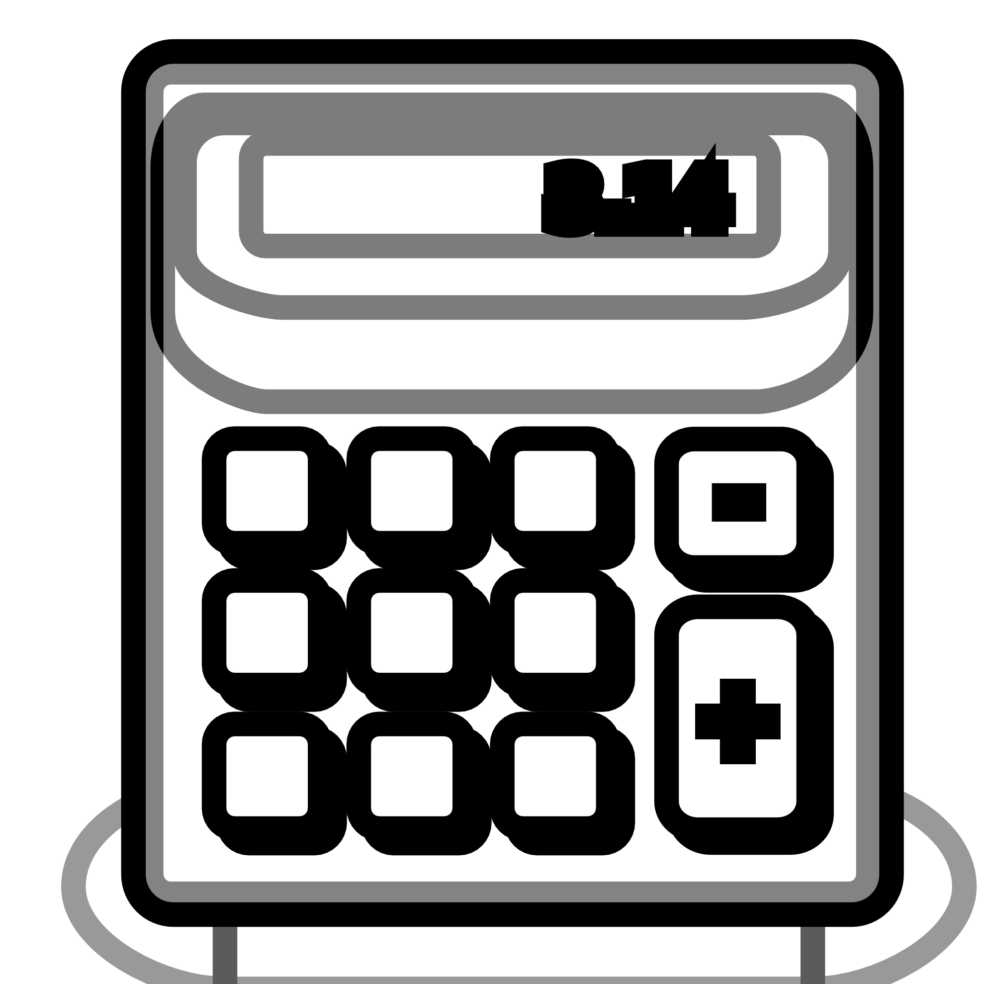 Collection of free approximator. Pencil clipart calculator