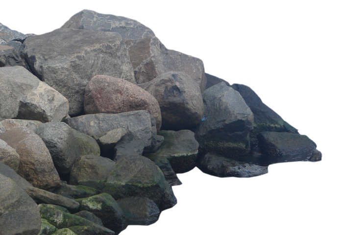 Popular and trending stickers. Clipart rock boulder